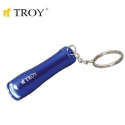 TROY - TROY 28087 Mini LED El Feneri ve Anahtarlık (24 Adet, Standlı)