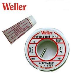 WELLER - WELLER WLS 100 Lehim Teli + Yağı